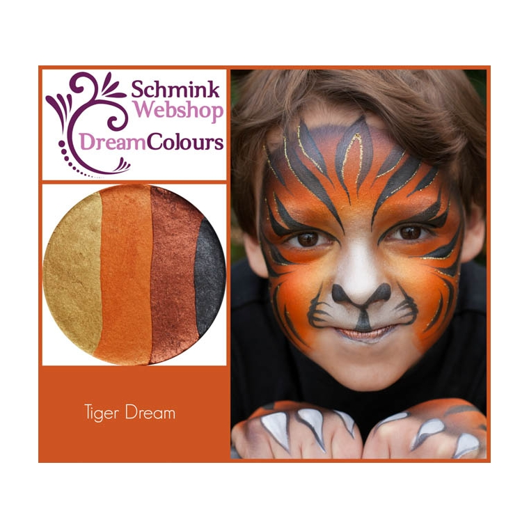 Tiger Dream - DreamColours SchminkWebshop