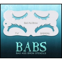 Fur Bad Ass Brow Stencil