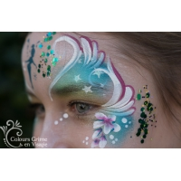 Elfje met Peacock Chunky Glittermix