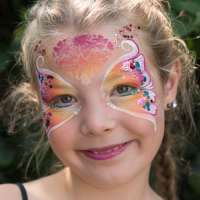Damask Mirror Ooh! - Facepaint Stencil