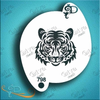 Diva Tiger Face Tribal - small