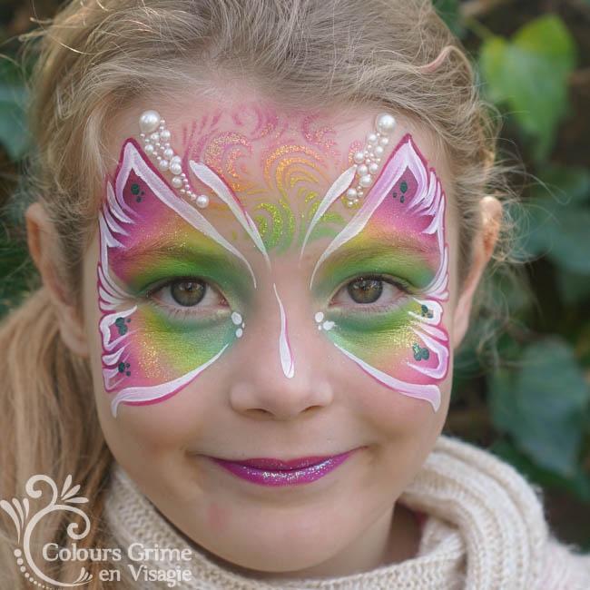 Tropical Vlinder Schminkwebshop Colours Superstar Schmink