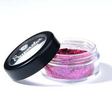 Bio Glitter - Dark Rose Chunky Mix Superstar 6 ml