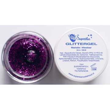 Glittergel Purple Superstar