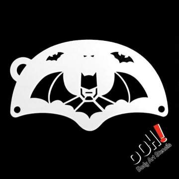 Batman Hero Ooh! - Mask Stencil