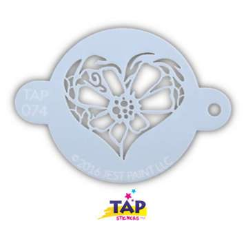 TAP Sjabloon Flower Heart