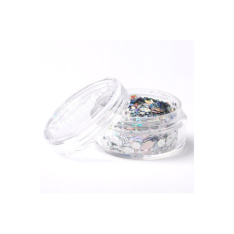 Laser Silver - Superstar Chunky Mix - 8 ml
