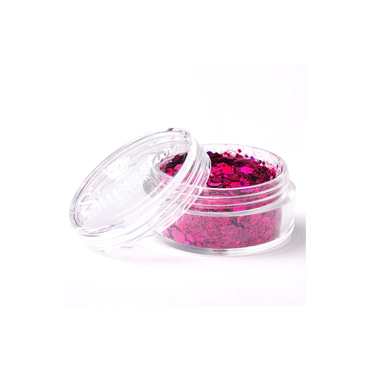 Laser Pink - Superstar Chunky Mix - 8 ml