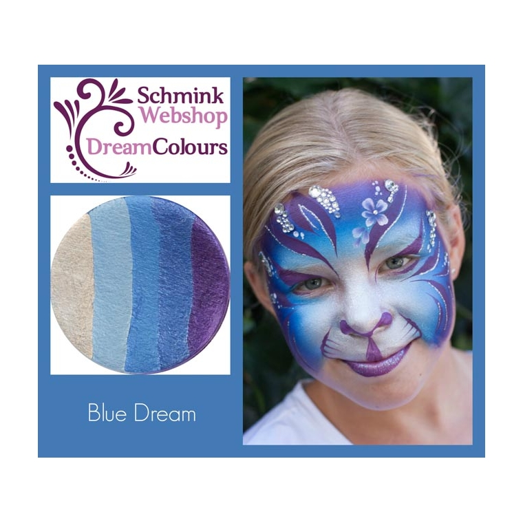 Blue Dream - DreamColours SchminkWebshop