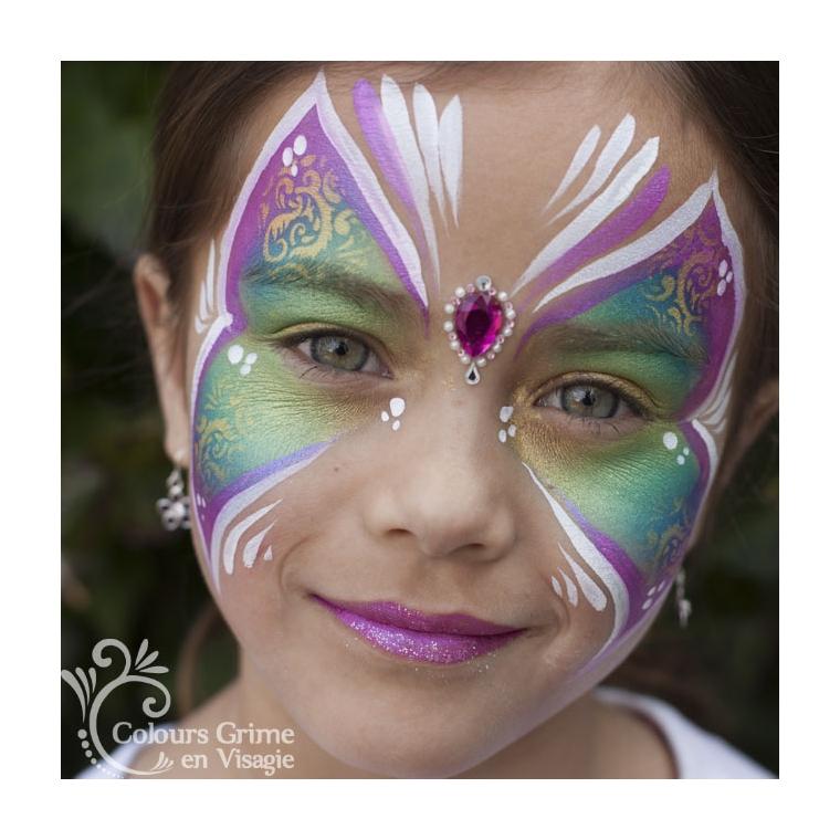 Vlinder Schminkwebshop Colours Superstar Schmink Glittertattoos